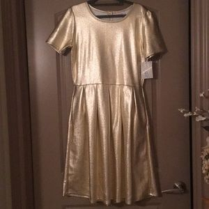 Gold Elegant Collection Amelia Dress 👗